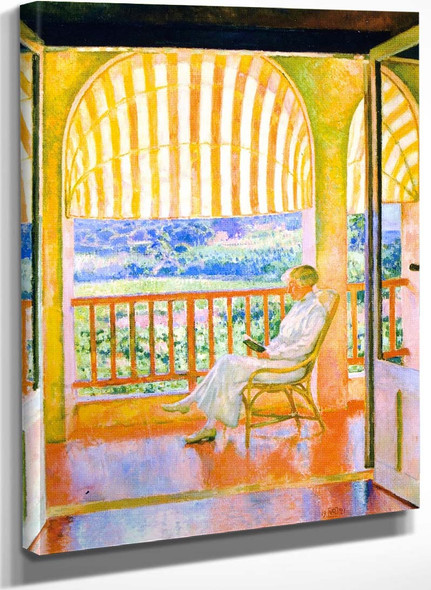 June Afternoon (Also Known As Apres Midi De Juin) By Theo Van Rysselberghe
