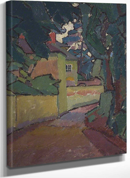 Lane Gloucestershire By Harold Gilman
