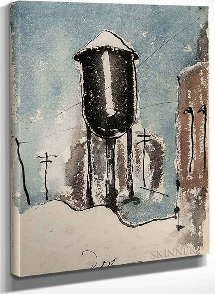 Lehigh Water Tower By Arthur Garfield Dove
