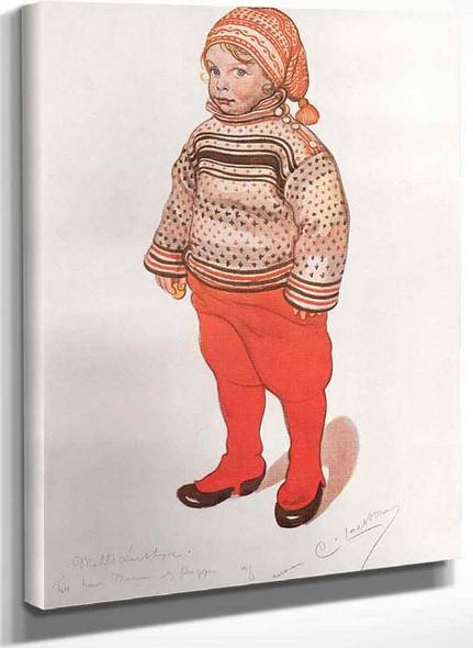 Lille Matts Larsson By Carl Larssonv