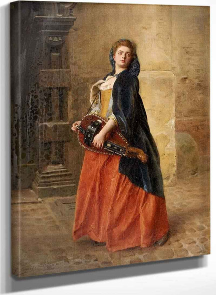 Looking Back By Gustave Jean Jacquet