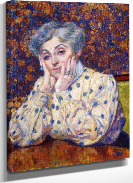 Madame Theo Van Rysselberghe By Theo Van Rysselberghe