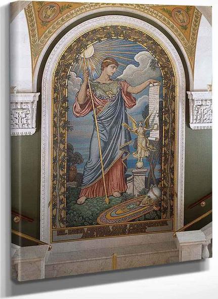 Minerva Of Peace By Elihu Vedder