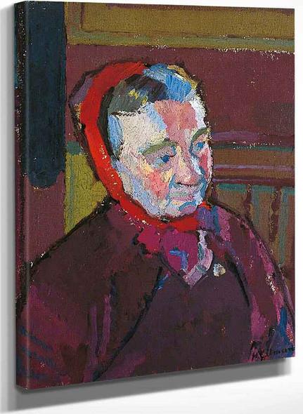 Mrs Mounter By Harold Gilman