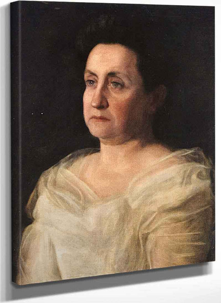 Mrs. Matilda Searight By Thomas Eakins