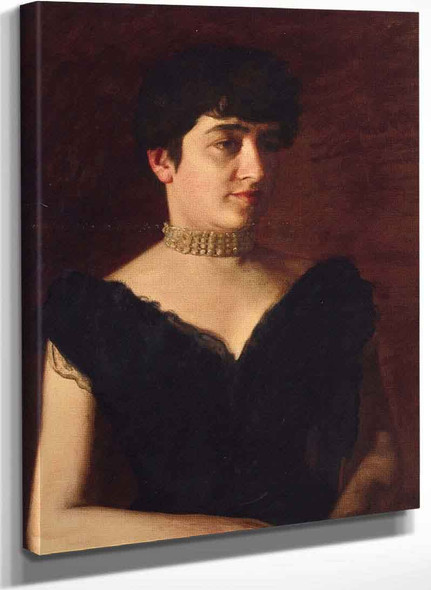 Mrs. William H. Green By Thomas Eakins