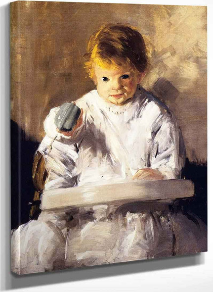 My Baby By George Wesley Bellows