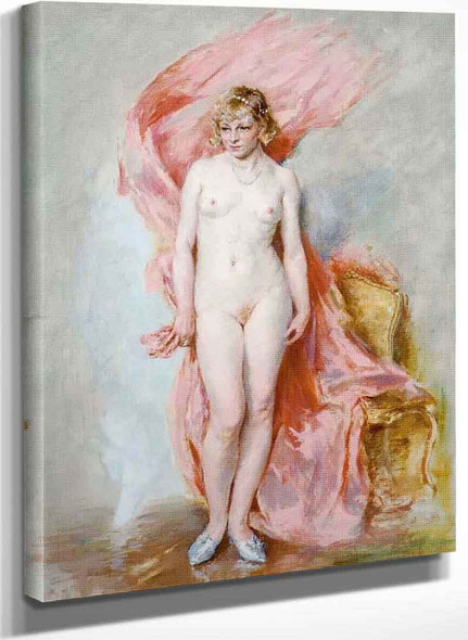 Nude In An Interior By Guillaume Seignac