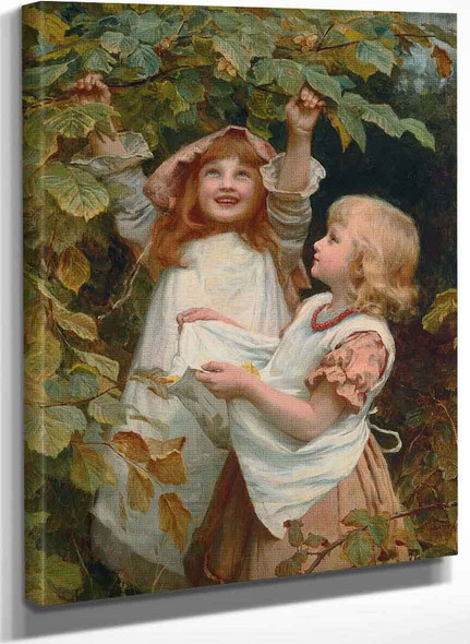 Nutting By Frederick Morgan