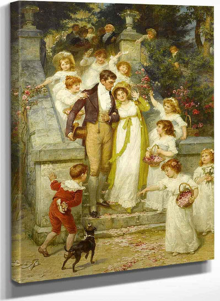 Off For The Honeymoon By Frederick Morgan