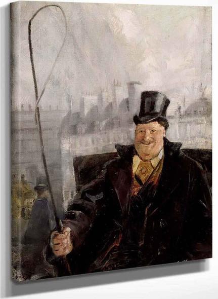 Parisian Coachman By Christian Krohg