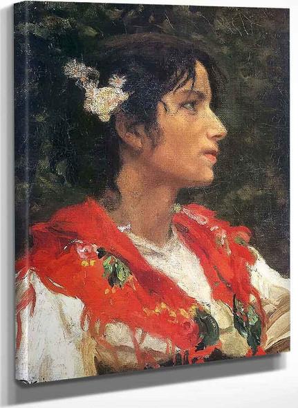 Peasant Woman By Edward Okun