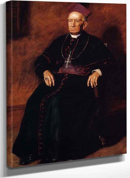 Portrait Of Archbishop William Henry Elder By Thomas Eakins