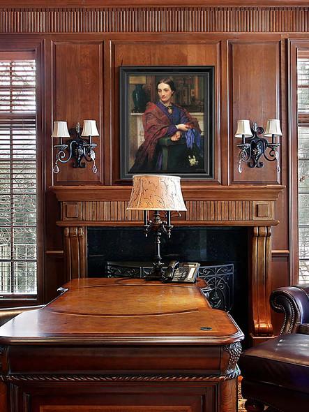 Portrait Of Fanny Holman Hunt By William Holman Hunt