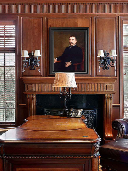Portrait Of Governor Claude Matthewes By Theodore Clement Steele