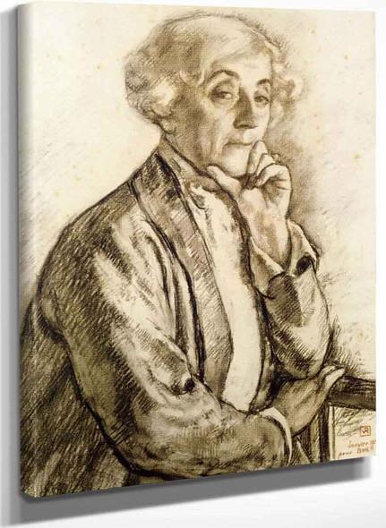 Portrait Of Maria Van Rysselberghe By Theo Van Rysselberghe