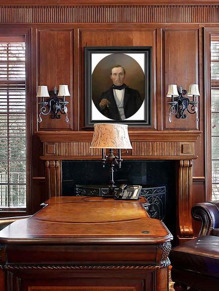 Portrait Of Monsieur Soons By Sir Lawrence Alma Tadema