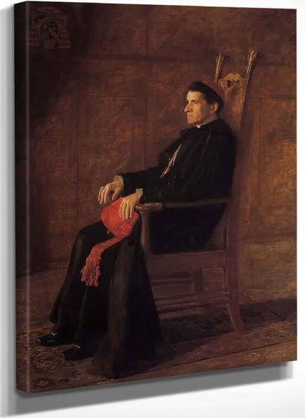 Portrait Of Sebastiano Cardinal Martinelli By Thomas Eakins