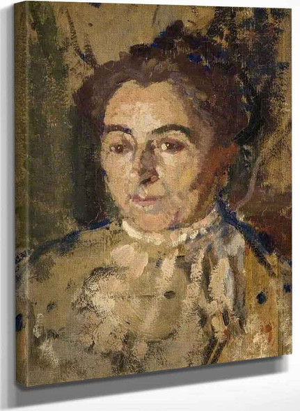 Portrait Study Of A Woman By Harold Gilman