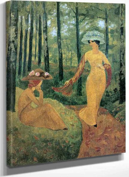 Promenade Dans Le Bois De Kermoal By Paul Serusier