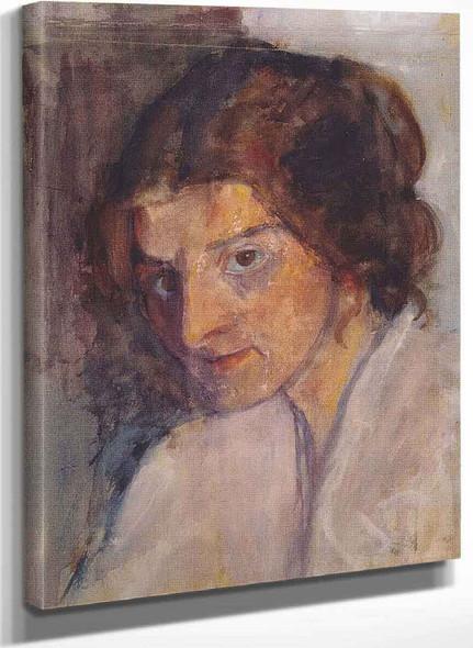 Self Portrait By Paula Modersohn Becker