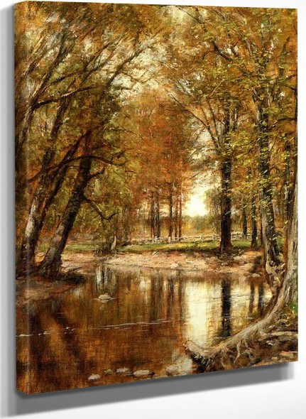 Spring On The River By Thomas Worthington Whittredge