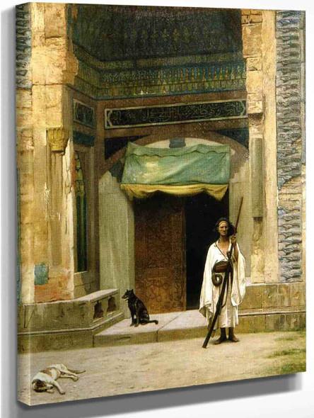 Door Of The Green Mosque By Jean Leon Gerome