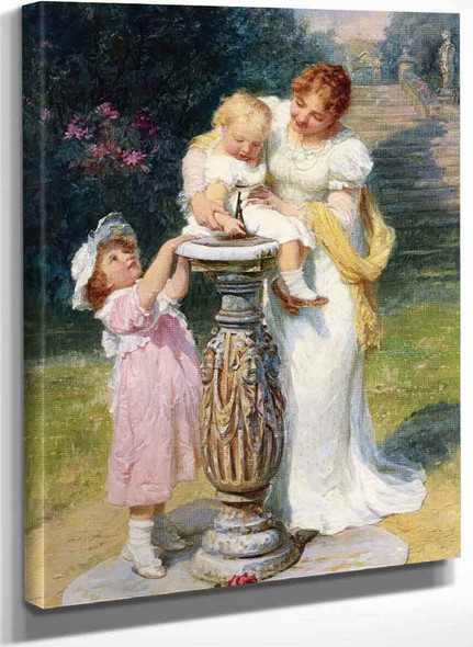 Sunny Hours By Frederick Morgan