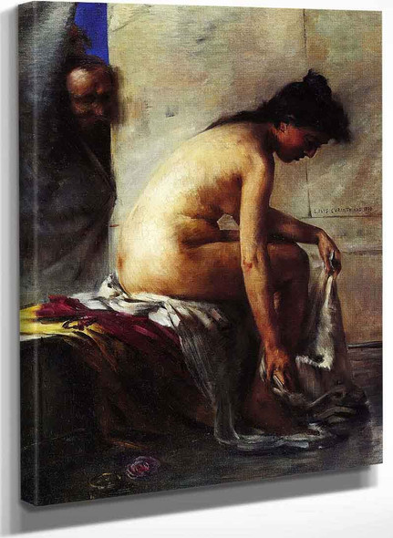 Susanna And The Elders Second Version By Lovis Corinth