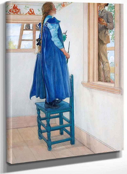 Suzanne And Another By Carl Larssonv