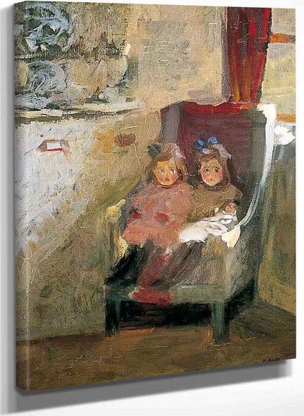 The Artists Daughters By Harold Gilman