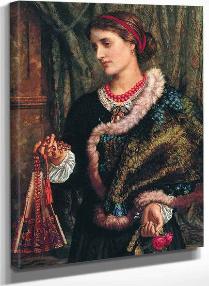 The Birthday (The Artists Wife Edith) By William Holman Hunt
