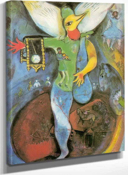 The Juggler By Marc Chagall