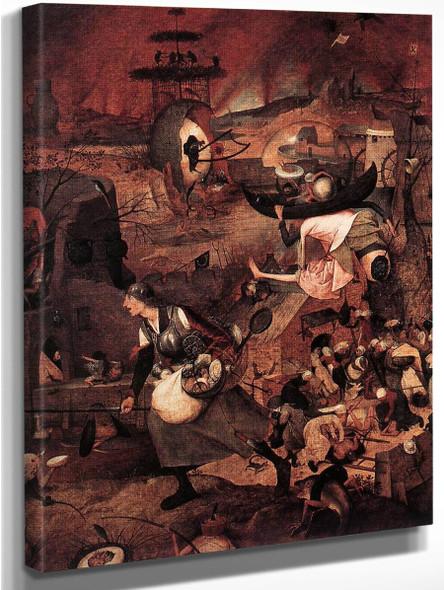 Dulle Griet  By Pieter Bruegel The Elder By Pieter Bruegel The Elder