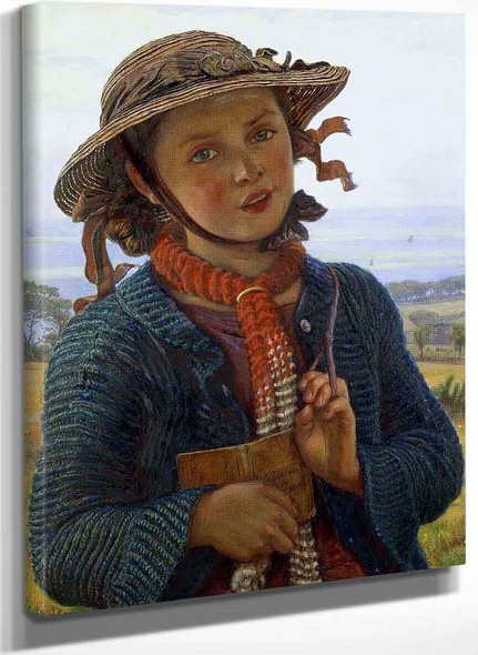 The School Girls Hymn By William Holman Hunt