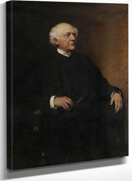 The Very Revd Henry George Lidell By Hubert Von Herkomer