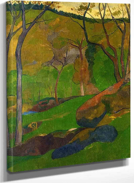 Undergrowth At Huelgoat By Paul Serusier