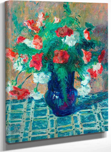 Vase Of Flowers By James Bolivar Manson