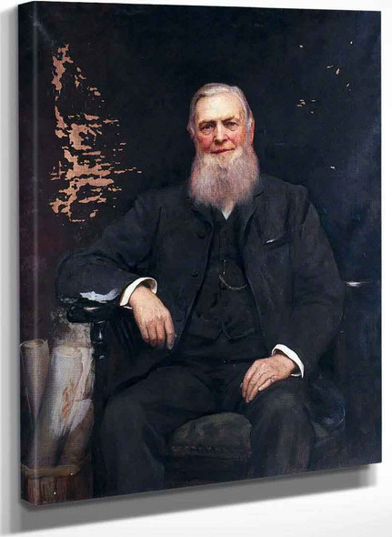 William Cawkwell General Manager London And North Western Railway By Hubert Von Herkomer