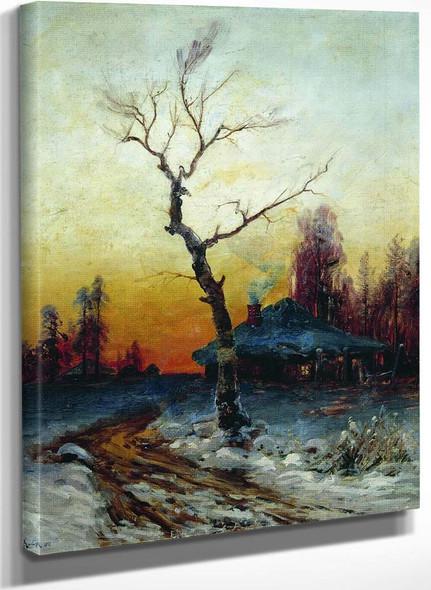 Winter Evening By Julius Klever