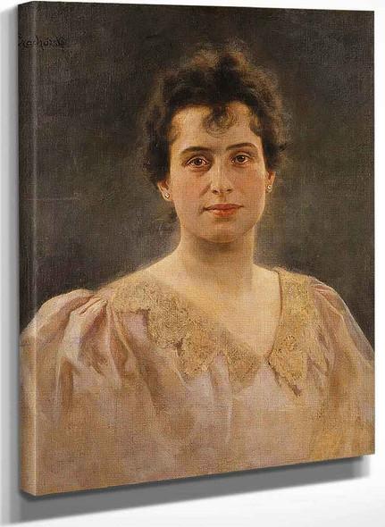 Woman By Władysław Czachorski
