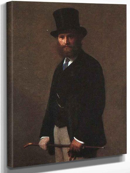 Edouard Manet By Henri Fantin Latour By Henri Fantin Latour