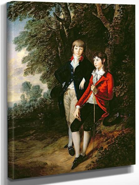 Edward And Thomas Tomkinson By Thomas Gainsborough