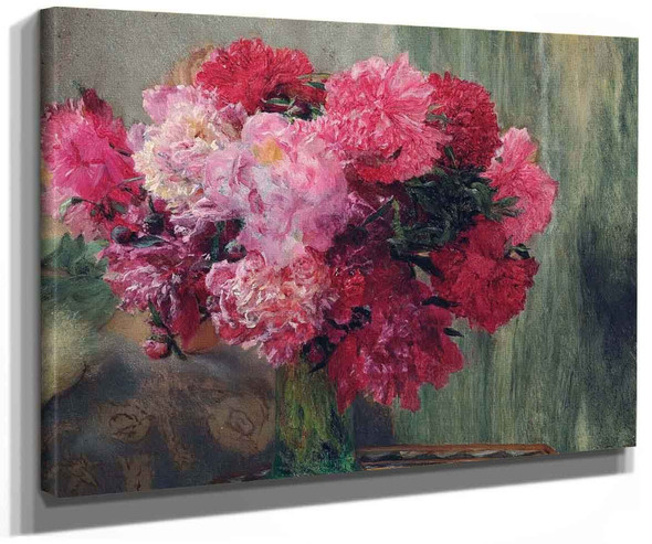 A Bunch Of Peonies (Also Known As Japanese Peonies) By Sir Lawrence Alma Tadema