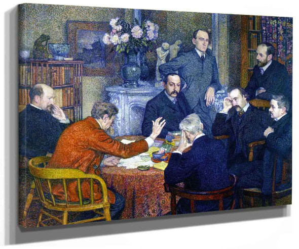 A Reading By Theo Van Rysselberghe