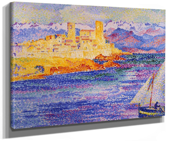 Antibes By Henri Edmond Cross