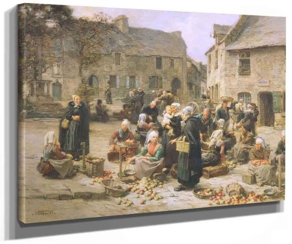 Apple Market Landerneau Brittany (Also Known As Le Marche Au Pomme De Landerneau) By Robert Bevan