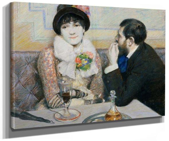 At The Cafe By Federico Zandomeneghi
