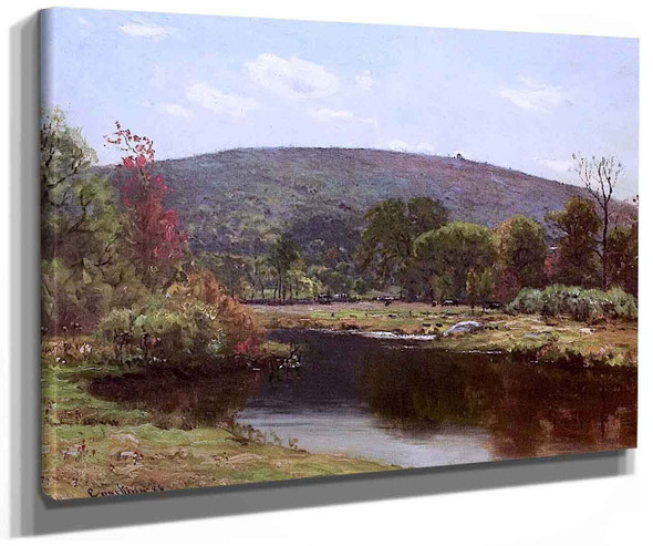 Autumn Landscape By John Joseph Enneking