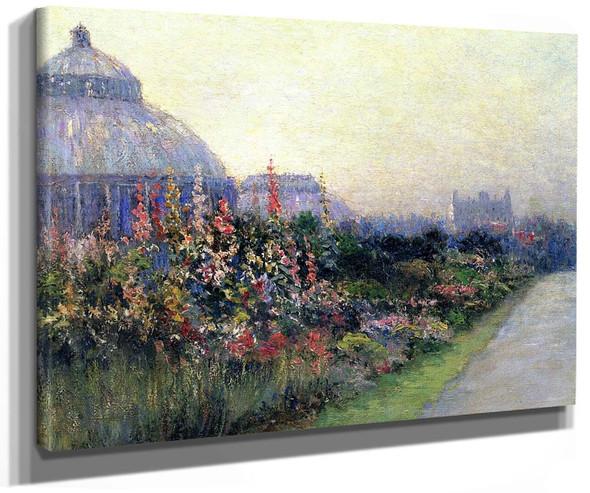 Botanical Gardens Brooklyn By Paul Sawyier